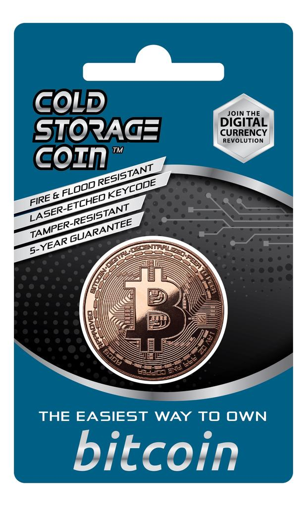 Authorized Seller Litecoin Cold Storage Coin Wallet 1 AV Ounce .999 Fine Copper